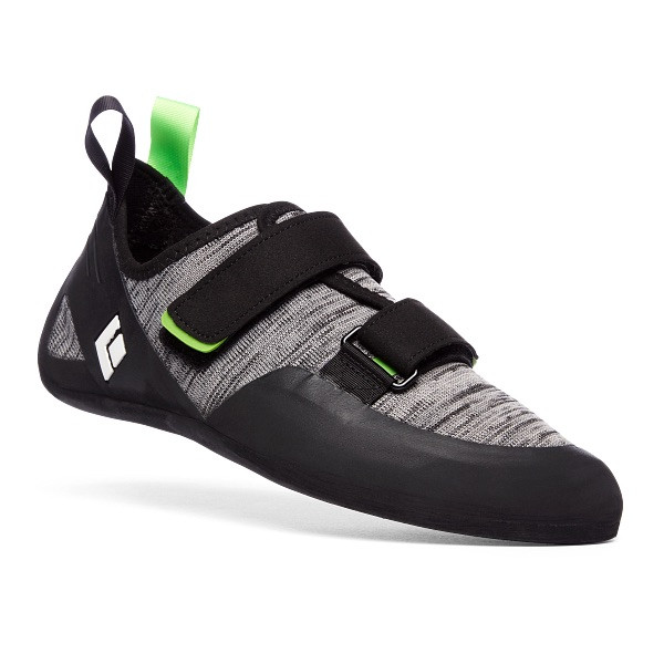 Momentum Mens Climbing Shoes, Black-Anthracite