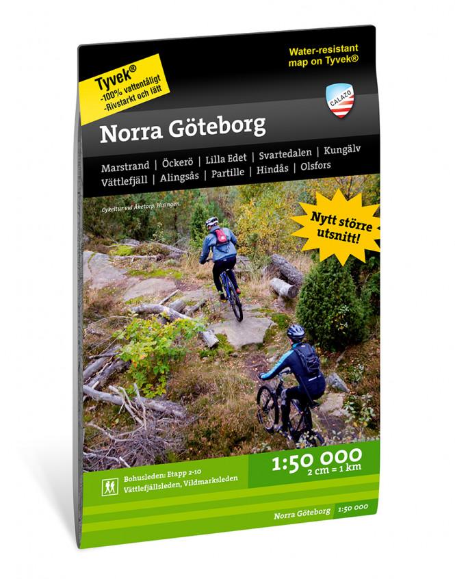 Norra Göteborg 1:50.000