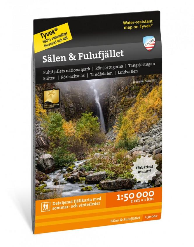 Sälen and Fulufjället 1:50.000