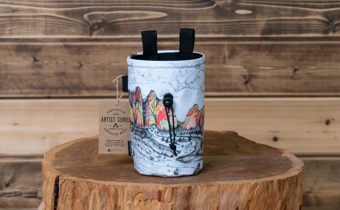 Chalk Bag Artist Series Smith Rock