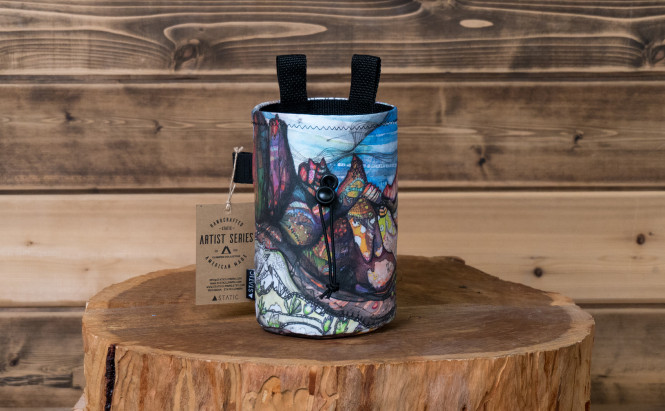 Chalk Bag Artist Series Wind River Mountains