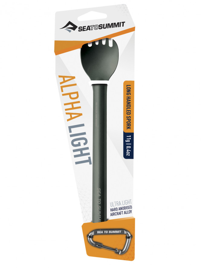 Alphalight Spork Long Handled