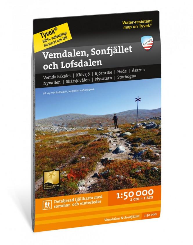Vemdalen, Sonfjället and Lofsdalen 1:50.000