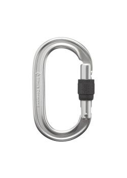Oval Keylock Screwgate Biner