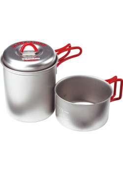 Ti Solo Pot Set (0.75 L + 0.4 L)