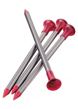 Carbon Core Stake Kit 4-pack