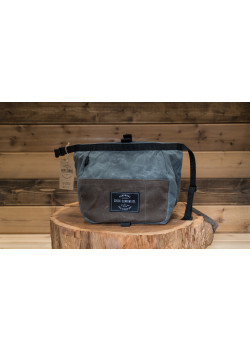 Bucket Waxed Canvas Gunpowder