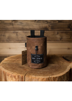 Chalk Bag Waxed Canvas Tobacco